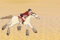 Abenteuer ägyptischen Pferd