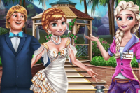 Hochzeitsvorbereitung Frozen