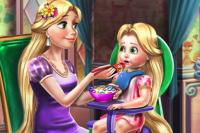 Prinzessin Baby Füttern