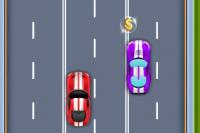 Race mit Super-Auto