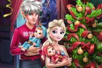 Elsa Weihnachten Familie