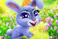 Fröhliches Kaninchen