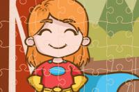 Oranje-Heldin Puzzle