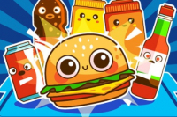Springender Burger